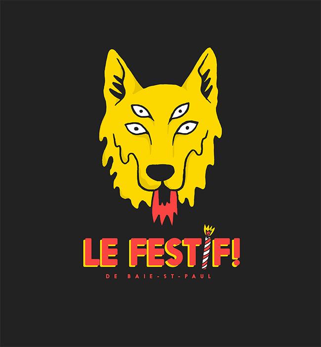 T-shirt Unisexe - Le Festif! 2019 - Boutique | Le Festif! de Baie-Saint-Paul