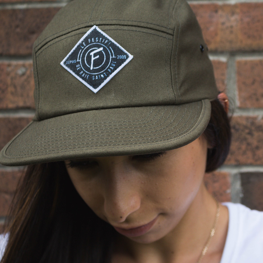 Casquette 5-panel 2018 - Boutique | Le Festif! de Baie-Saint-Paul